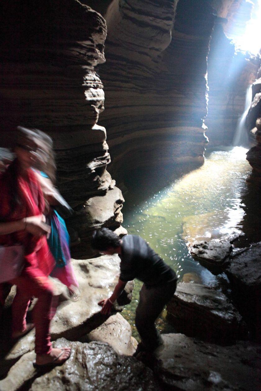 Underground cave, Pokhara