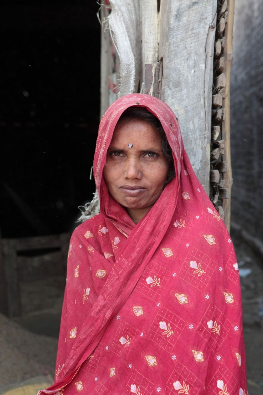 Woman from a Terai village