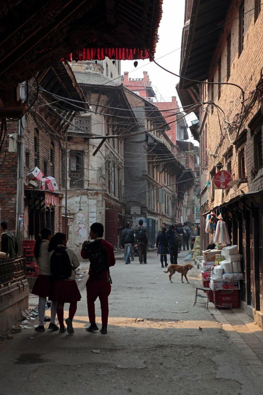 Kathmandu city street