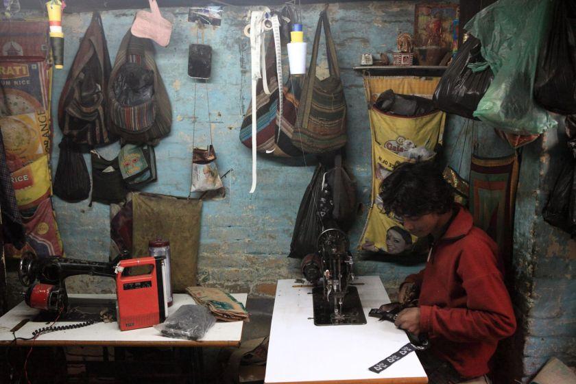 Bag maker, Kathmandu