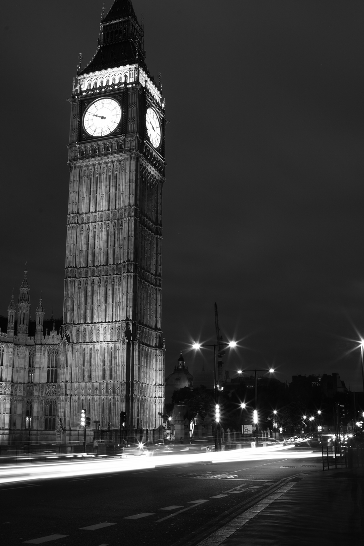 Traffic by Big Ben