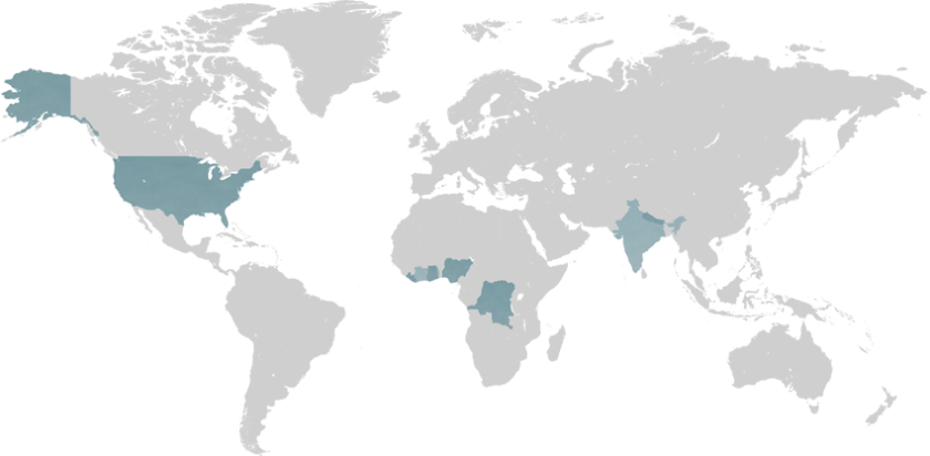 World Leprosy Map