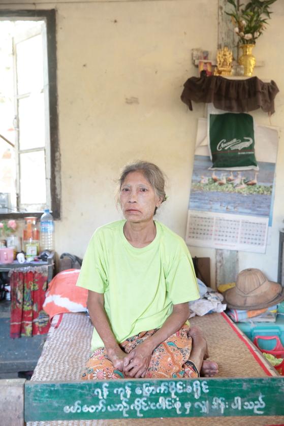 Ma Yan Chaung Resettlement Village - Dormitories - Daw Sun Tint